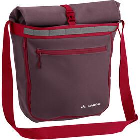 VAUDE ShopAir Back Handlebar Bag, czerwony